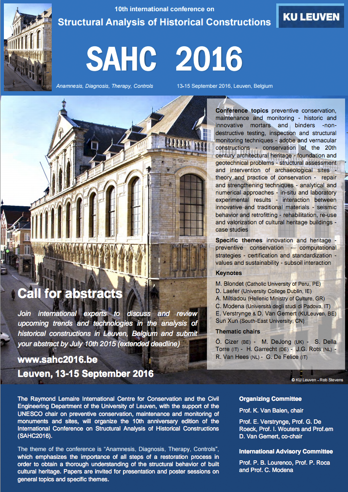 Final call for abstracts
