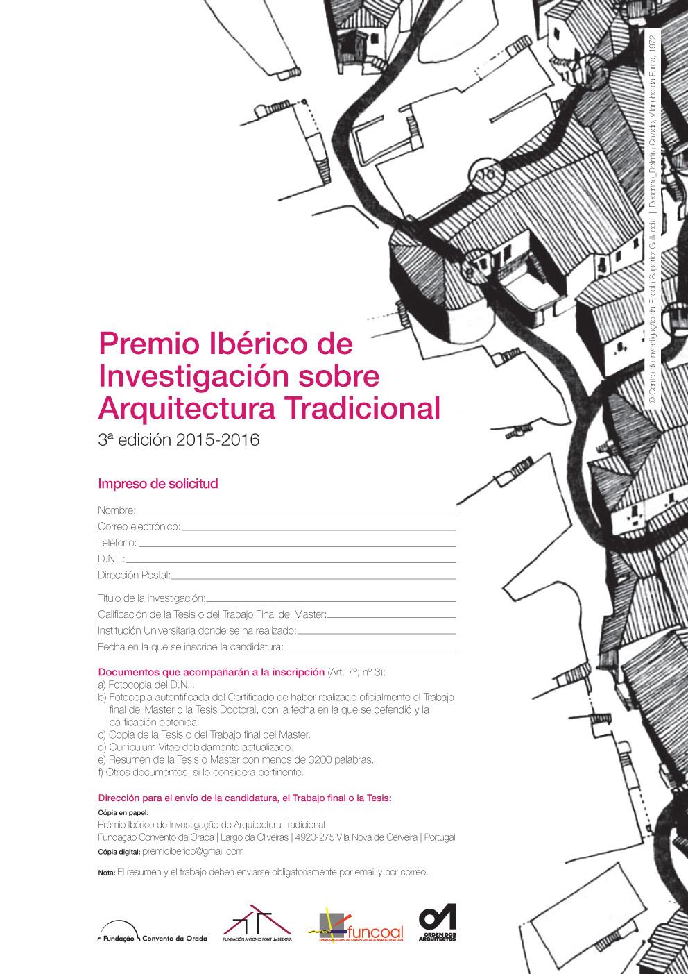 2016_impreso de solicitud_ES_premio ibérico