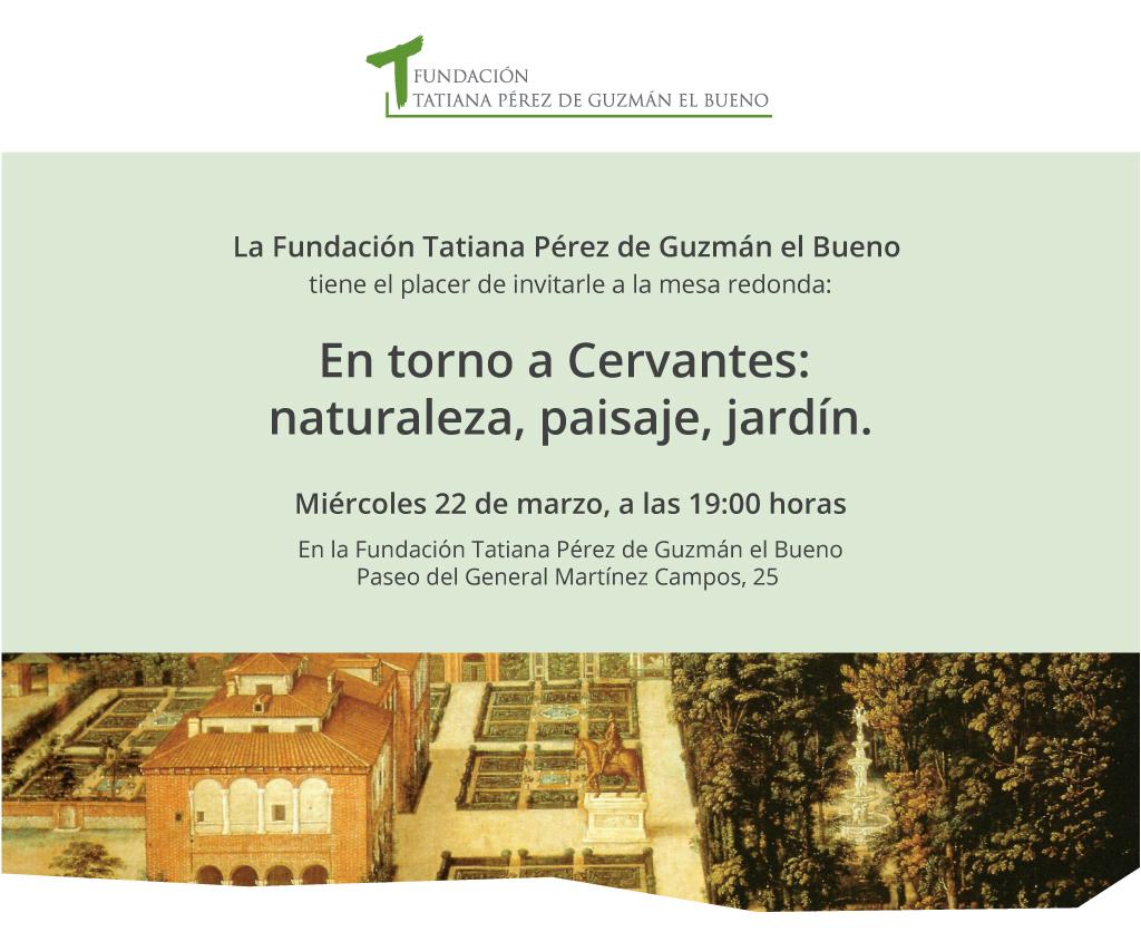 Jardín en Cervantes