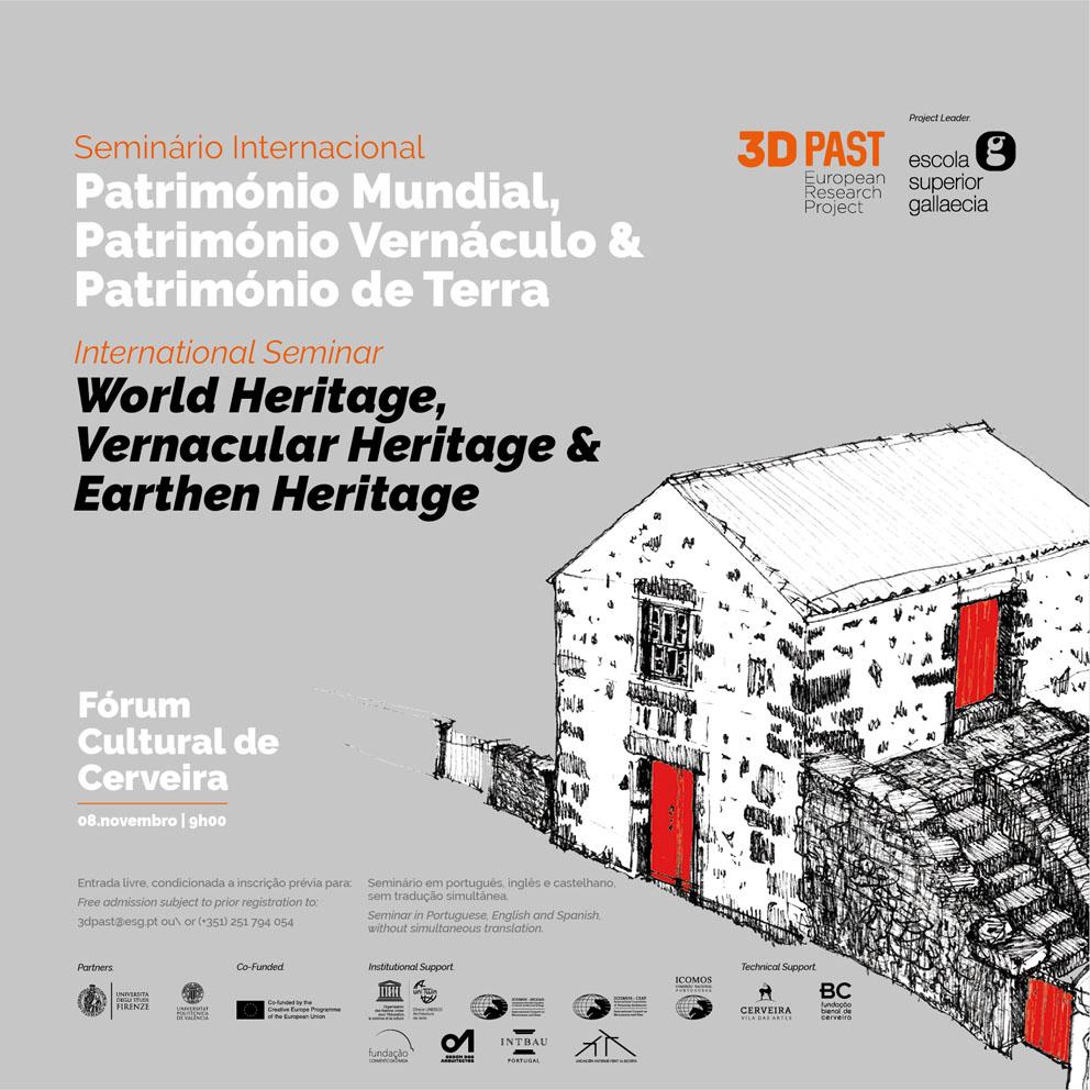 cartaz | SEMINÁRIO INTERNACIONAL 3DPAST
