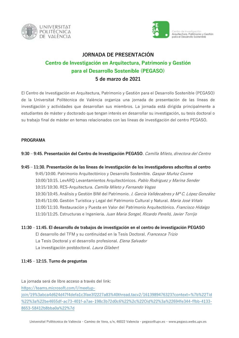 jornada presentación PEGASO-PROGRAMA (2)